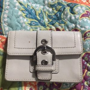 Coach small wallet/pouch